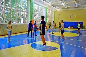 Прошли вступительные испытания для будущих педагогов по физической культуре