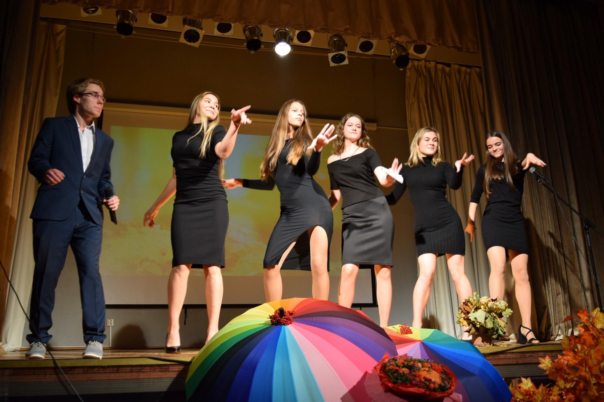 Концерт посвященный Дню учителя.